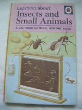 MATT LADYBIRD BOOK - INSECTS AND SMALL ANIMALS - SERIES 651 - 1st Ed.1972 - 24p