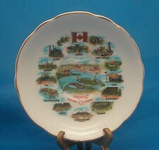 EXPO 67 Souvenir Plate England Bone China Royal Darwood