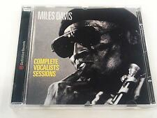 MILES DAVIS COMPLETE VOCALISTS SESSIONS CD 2000