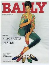 PUBLICITE ADVERTISING 104 1991 BALLY chaussures mode accessoires