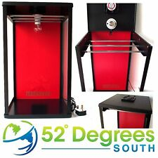Biltong Maker Box with Red Back Panel Beef Jerky Dehydrator Crown National Spice