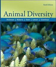 Animal Diversity by Hickman, Roberts, Keen, Larson & Eisenhour, 6th Edition