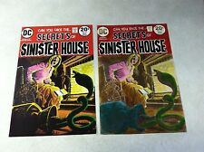 SECRETS OF SINISTER HOUSE #14 hand colored cover art and approval cover COBRA