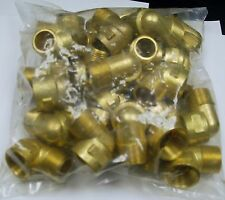 """Brass Fittings: Brass 90° Street Elbow Forged, Pipe Size 3/4"""", QTY. 25"""