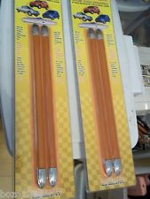 "WOLO NOS AUTO CAR TRUCK RV MOTORCYCLE MOLDING TRIM LIGHTS MTL-1012 AMBER 12"" 2KK"