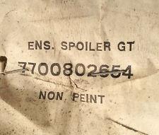 N.O.S lame de pare choc RENAULT 21 GT ref 7700802654
