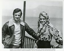 JEAN-PAUL BELMONDO DYAN CANNON  LE CASSE 1971 VINTAGE PHOTO ORIGINAL