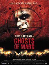 Affiche 40x60cm GHOSTS OF MARS (2001) John Carpenter - Henstridge TBE