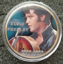 ELVIS PRESLEY THE KING OF ROCK N ROLL  24K GOLD  PLATED MEMORABILIA COIN #8