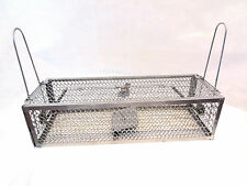 1 x large double entrée rat cage piège humane PRINTEMPS Large Live Animal Rongeur