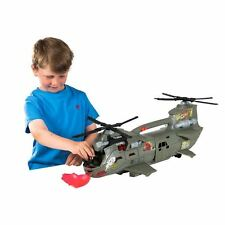 The Corps Elite Rain Fire Helicopter -  Includes Action figure - Brand New