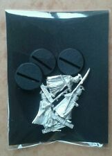 LOTR Warhammer Elf Spearmen Metal Slotta Miniatures inc Bases EXCELLENT