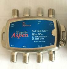 Eagle Aspen 3x4 Multiswitch  Brand new