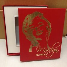 MARILYN MONROE UPDATE COLLECTION: EMPTY STORAGE BOX made to hold set BREYGENT