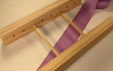 Ribbon Wooden Hair Bow Maker Tool Handmade New Two-Sided