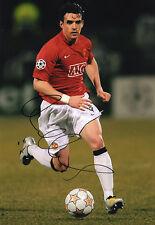 Owen Hargreaves, Manchester Utd, England, Bayern Munich, signed 12x8 photo. COA.