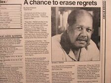 May 10, 1987 Minneapolis Star Tribune TV Week Mag(ERNEST J. GAINES/LOUIS GOSSETT