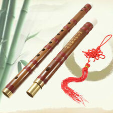 61cm Chinese Traditional Musical Instrument Handmade D Key Bamboo Flute Set Kits