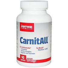 CarnitAll - 90 Cápsulas por Jarrow Formulas - Aminoácido para Corazón & Músculos