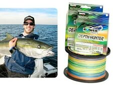 FILO TRECCIATO POWER PRO MULTICOLOR DEPTH HUNTER 0,15 MT 300