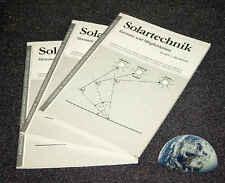 Solar Buch Berechnung Simulation Energiesteigerung Generator Kollektor