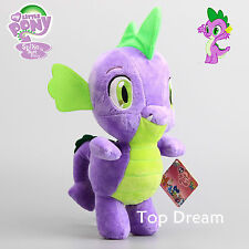 My Little Pony G4 Spike The Dragon Figure Plush Doll  Soft Toy 13'' Teddy New