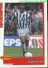 258 EDGAR DAVIDS NETHERLANDS JUVENTUS STICKER SUPER CALCIO 2001 PANINI