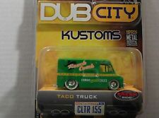JADA DUB CITY KUSTOMS TACO TRUCK LIMITED EDITION 1/64 SCALE DIECAST SEE PIC