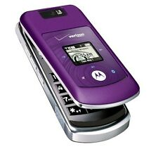 Motorola Moto W755 - Purple (Verizon) Cellular Phone