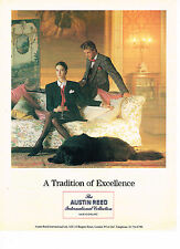 PUBLICITE ADVERTISING 034   1989   AUSTIN REED   pret à porter made in ENGLAND