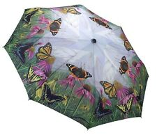 Galleria New Butterfly Mountain Windproof Automatic Open Close Folding Umbrella