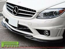 Godhand Style Carbon Fiber Front Lip For M-Benz W216 CL63 CL65 AMG 2006-2010