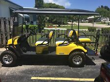 2016 EZGO L6 6 Passenger Street Legal Golf Cart
