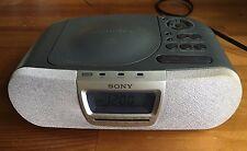 SONY DREAM MACHINE CD Player Digital Alarm Clock AM/FM Radio ICF-CD830