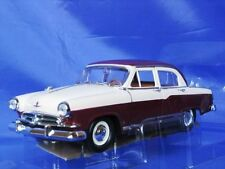 GAZ VOLGA M-21 M21 1957 1:24 NEW YATMING 24210 BURGUNDY CREAM