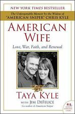 American Wife by Jim DeFelice and Taya Kyle (2016, Paperback)