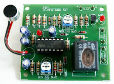 Voice Activated Switch Kit Supplied In Component Form Electronics Assembly Kit