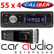 Caliber RMD020 55x4 W Mechless Super Slim Sd Usb Aux Auto estéreo reproductor de Radio Fm
