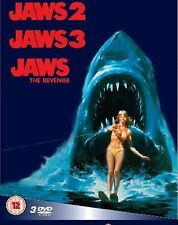 Jaws 2 / Jaws 3 / Jaws  The Revenge Box Set NEW DVD