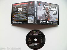SONY PS1 PLAYSTATION 1 PAL GAME TOTAL NBA 98 BLOCKBUSTER  TESTED IN CONSOLE