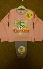 official tom and jerry pyjamas age 18-24 mths