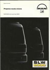 M.A.N. SLW 2000  TRUCK LORRY BROCHURE EARLY 90's?