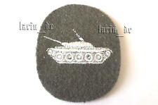DDR NVA Patch/brazo-insignia para uniforme tanques East German Army Tank Patch