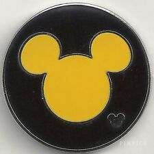 Disney Pin: WDW Cast Lanyard Collection 4 - Mickey Icon (Yellow)