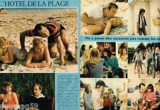 Coupure de Presse Clipping 1978 (4 pages) Film L'Hotel de la Plage