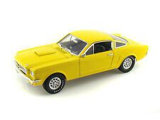 FORD SHELBY GT350 FASTBACK YELLOW 1966 SHELBY175 1/43 SHELBY COLLECTIBLES JAUNE