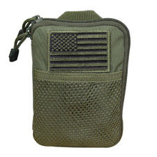CONDOR MOLLE Modular Passport ID Field Wallet Pouch ma16-  OD OLIVE Green w/Flag