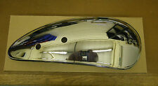 AJS & MATCHLESS AMC CHROME PETROL TANK SIDE PANELS (PAIR)- NOT MADE IN INDIA