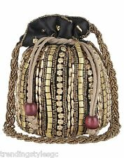 Indian Traditional Ethnic Party Hand Potli Bag Wedding Bridal Purse Clutch Pouch