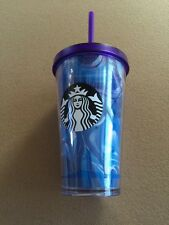 Starbucks Summer 2016 Collection Blue Wave Cold Cup 16 oz Grande